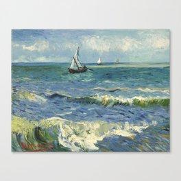 Van Gogh Seascape Canvas Print