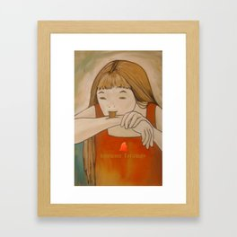 test Framed Art Print