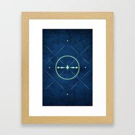 Dark Mystery Framed Art Print