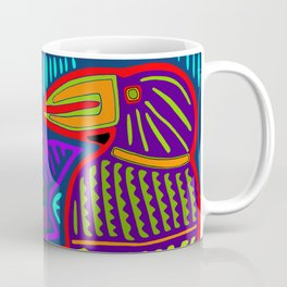 San Blas Twin Parrots Coffee Mug