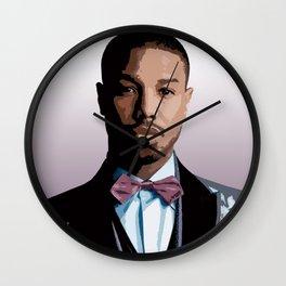Michael B. Jordan 3 Wall Clock