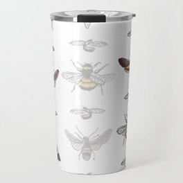 Bug Stripe Travel Mug