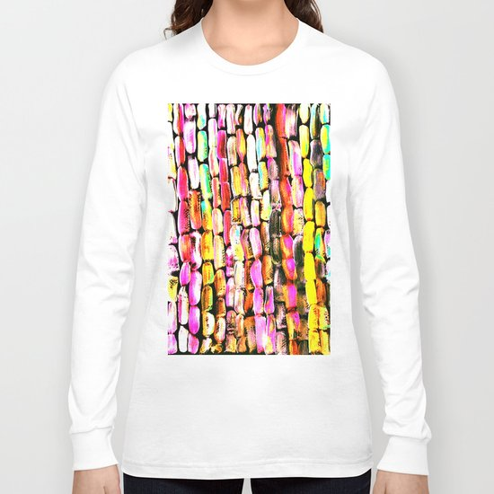 Orange Sugarcane Long Sleeve T-shirt