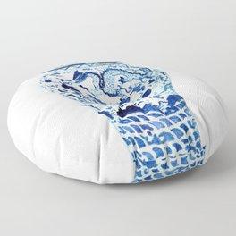 GINGER JAR NO 7  Floor Pillow