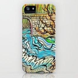 WATER UNDER THE BRIDGE iPhone Case