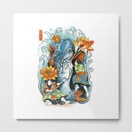 Make Art Not War Metal Print