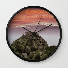 Sunrise Colwyn Bay Wall Clock