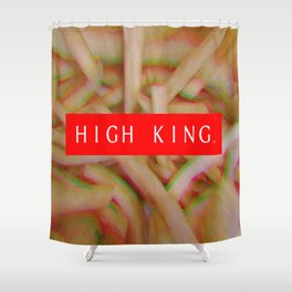 HIGH KING FRENCH FRIES Shower Curtain