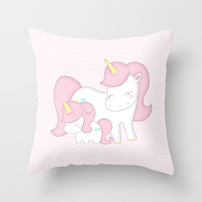 maman magique Throw Pillow
