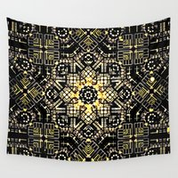 industrial Wall Tapestries featuring Industrial flora by Steve W Schwartz Art