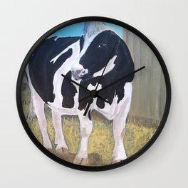 Cow - Farm Sanctuary Wall Clock