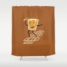 Hop-Scotch Shower Curtain