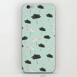 Umbrellas. iPhone Skin