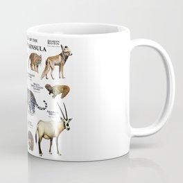 Animals of the Arabian Peninsula Coffee Mug