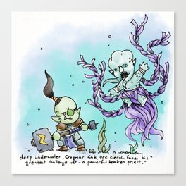 Dungeons & Doodles - Mini Encounters Canvas Print