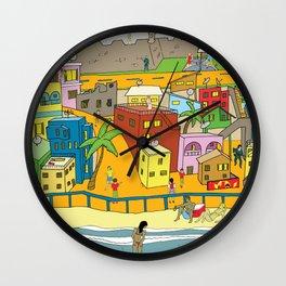 La Perla Wall Clock