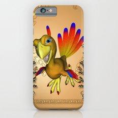 Funny cute cartoon phoenix iPhone 6s Slim Case