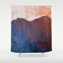 avila.ashes.103 Shower Curtain
