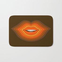 Pop Lips - Golden Bath Mat