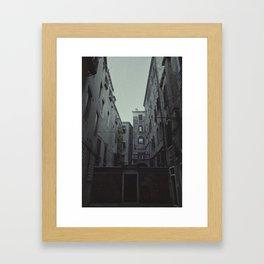 The Small Courtyard Framed Art Print