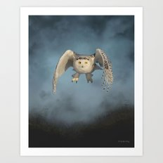 From the mist cometh mystery Art Print
