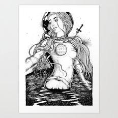 Aurora's Last Escape Art Print