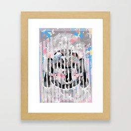 Buddah - Butterfly Framed Art Print