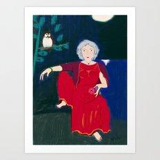 Wise Woman Art Print