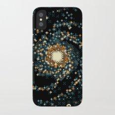 Pinwheel Galaxy M101 (8bit) iPhone X Slim Case