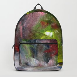 Fractured Fruit Abstract Backpack