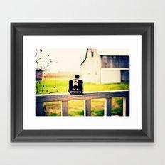 Brownie Kodak Camera Framed Art Print