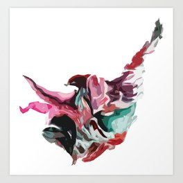 Suspension - Digital  Art Print
