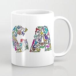 YOGA Figure Poses Coffee Mug
