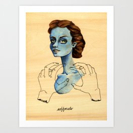 Soffocato Art Print