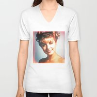 "laura palmer V-neck T-shirts featuring Twin Peaks ""Laura Palmer"" by Spyck"