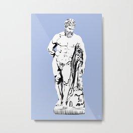 HERCULE Metal Print