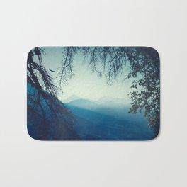 Blue Mountain Morning Bath Mat