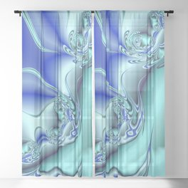 Go with the Flow Sheer Curtain