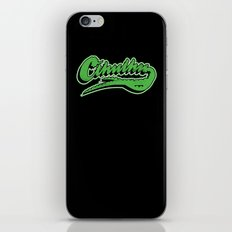 Cthulhu baseball logo iPhone & iPod Skin