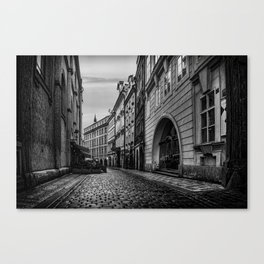 Route to Old Town Square Canvas Print