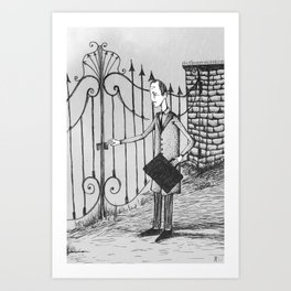 The Confession of Jacob Molar Art Print