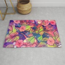 flowers 27 #flora #flowers #pattern Rug