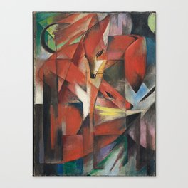 Franz Marc - The Foxes Canvas Print