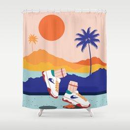 Sneakerhead Shower Curtain