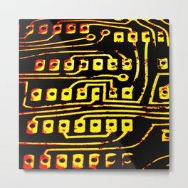 Beercan Furnace Metal Print
