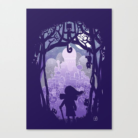 It's a long way home Canvas Print