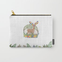 Deer in the forest. Carry-All Pouch