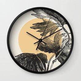 Antique botanical 1  Wall Clock