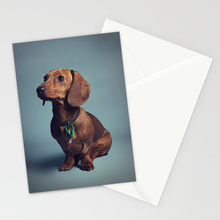 Dachshund Stationery Cards
