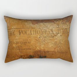 The Pocahontas Times Rectangular Pillow
